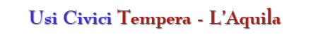 Usi civici tempera – L'Aquila